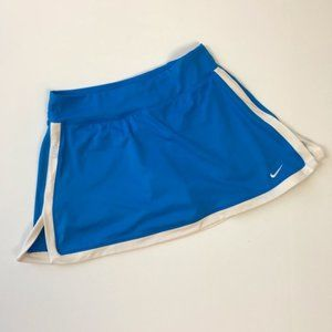 🏷 Nike Dri-Fit Athletic Skirt Size S Blue
